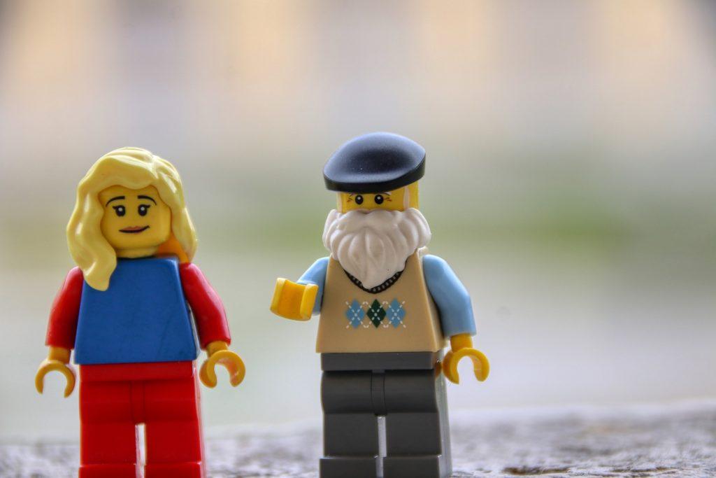レゴの人形