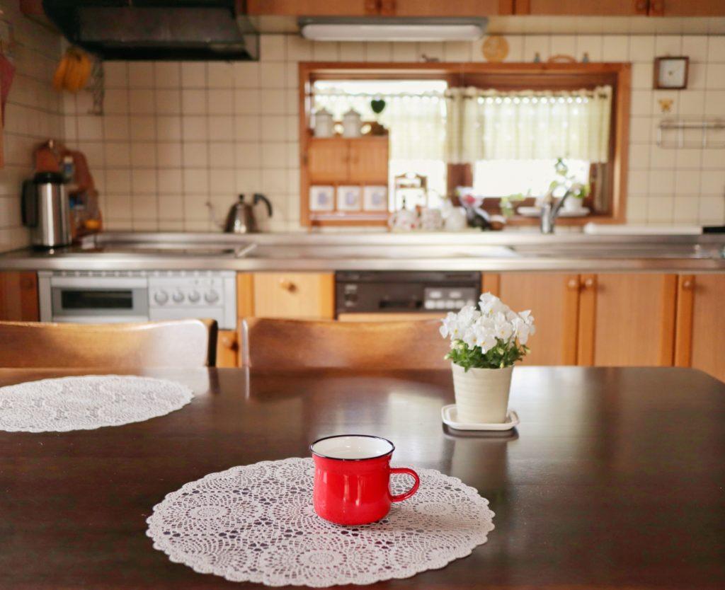 キッチンのコーヒー