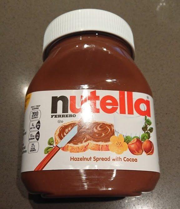 海外で人気のスプレッドnutella!味・ココアアレンジ・ヌテラドッキリ!