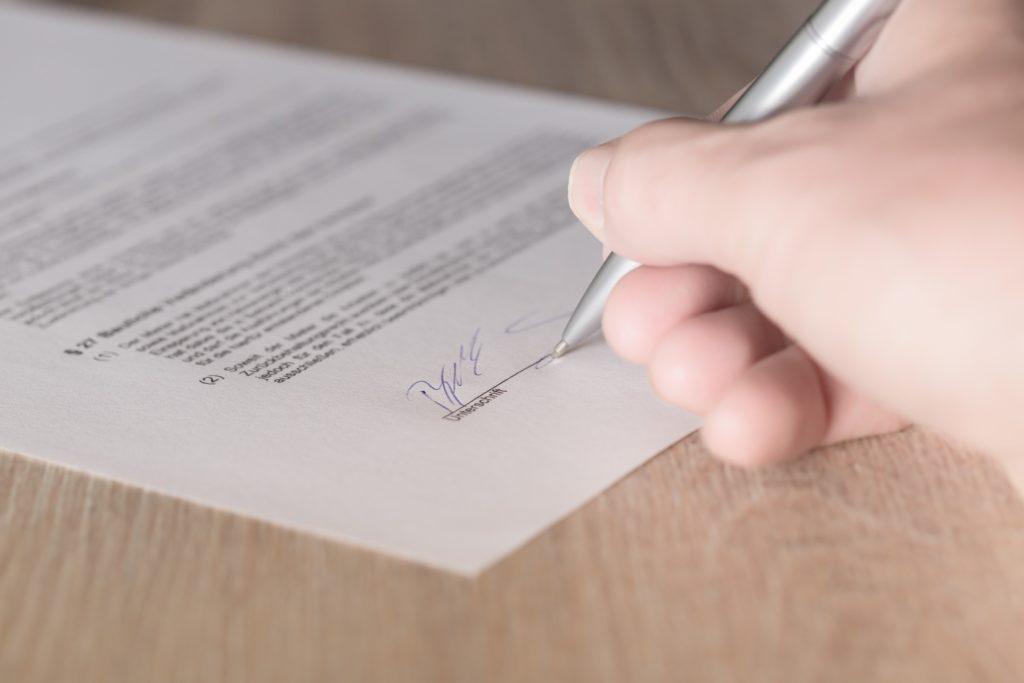 英語の賃貸借契約