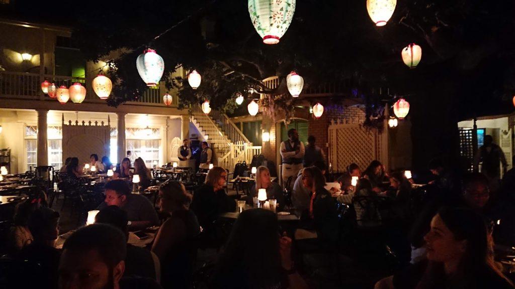 パイレーツオブカリビアンのレストラン