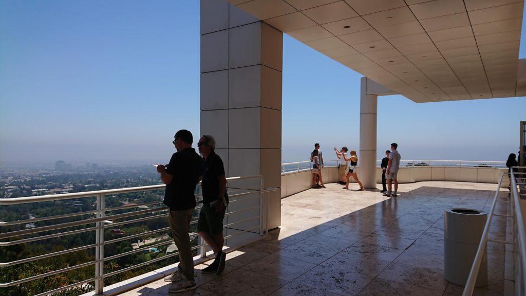 ゲティ美術館からの眺望