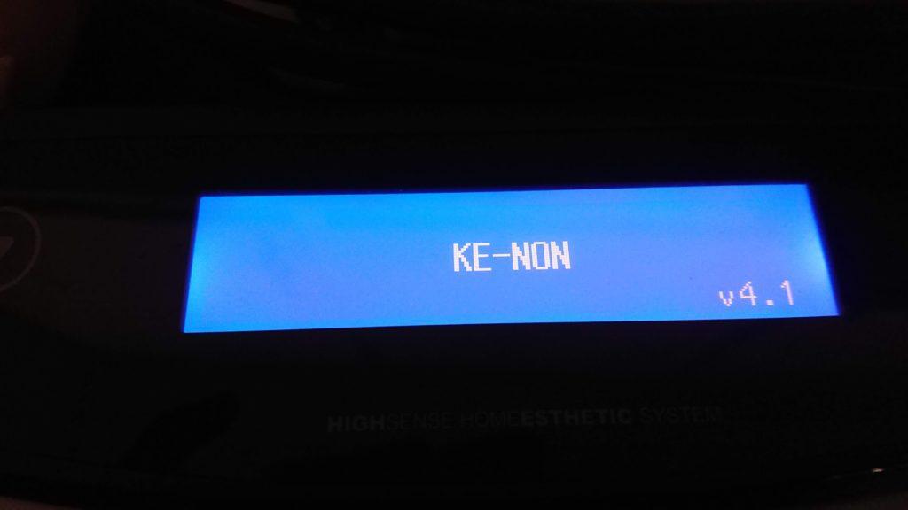 ケノン操作パネル