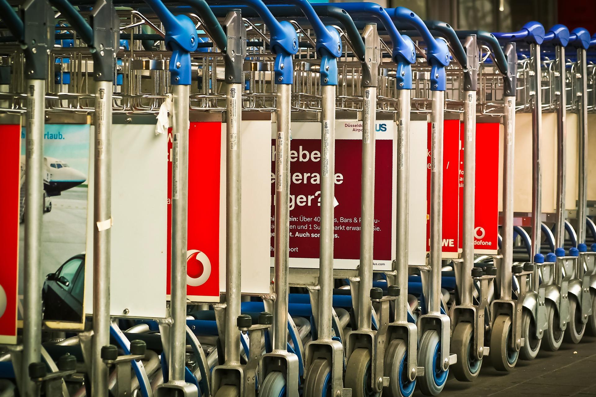 空港のカート