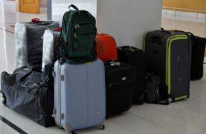 スーツケースとかばん
