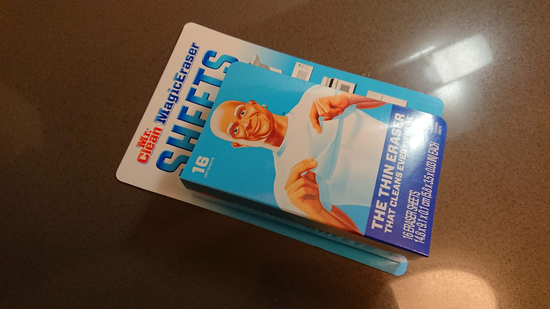 アメリカ掃除グッズMr.Clean Magic Eraser Sheets