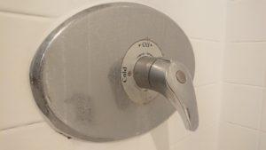 シャワールーム蛇口