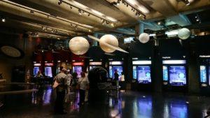 グリフィス天文台の展示