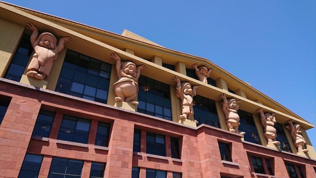 ディズニー本社建物