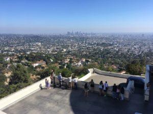 グリフィス天文台からの眺望