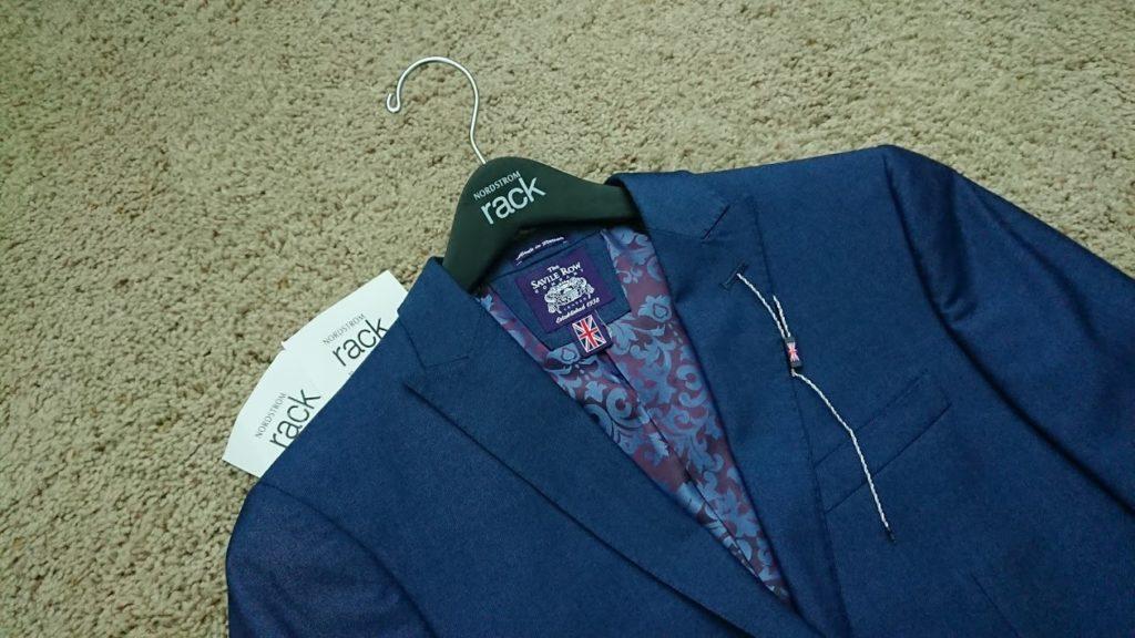 スーツとレシート