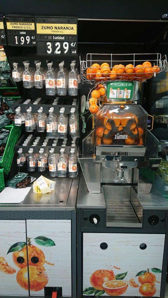 フレッシュジュースマシン