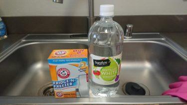 重曹とお酢でキッチン掃除!アメリカのベーキングソーダが大活躍!